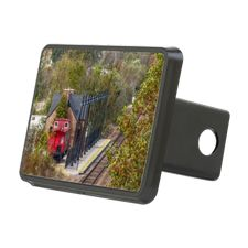 Train Station Hitch Cover