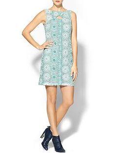 Pim + Larkin Lace Knotch Dress | Piperlime