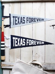 Texas Forever // Texas Pennant made in the USA
