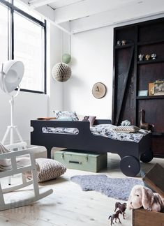 STIL INSPIRATION: Färginspiration #boys #room #bedroom #bed