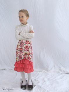 Vivienne Skirt {All The Skirts: Violette Field Threads & Raspberry Creek Fabrics} - Skirt Fixation Girl Skirts, Modest Skirts, The Vivienne, Baby Accessories, Boy Outfits, Dress Skirt, Baby Kids, Tulle, Ballet Skirt