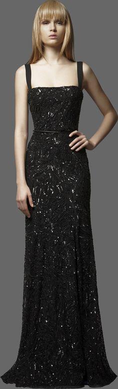 The best little black dress  ELIE SAAB - Ready-to-Wear - PreFall 2012