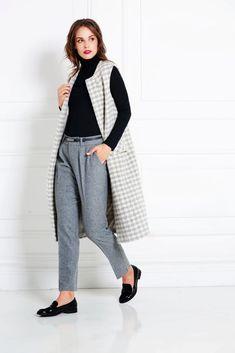 IVANA ROSOVA Luxury demi-couture businesswear made by women for women Business Wear, Workwear Fashion, Successful Women, Merino Wool, Work Wear, Perfect Fit, Trousers, Normcore, Vest