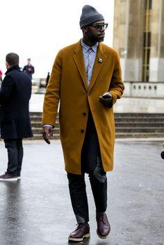 Paris Men's Fashion Week Street Style Fall 2014 - theFashionSpot