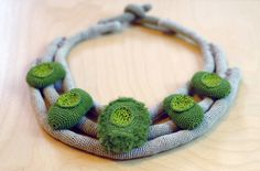 """Lidia Puica necklace """"The forest touch"""" collection"""