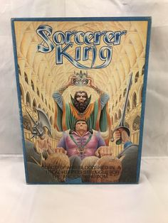 Vintage Wotan Games Sorcerer King Role Playing Game ,1st edition war games 1986 in Toys & Games, Wargames & Role-Playing, Role-Playing | eBay
