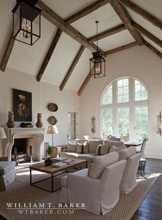 'French style house.' William T. Baker, architect & building designer, Atlanta, GA. James Lockheart photo.