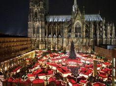 Weihnachtsmarkt am Kölner Dom 2012  Not this year :-(