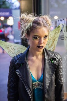 Tinker Bell Gets a Punked-Out Makeover For Halloween: If you've ever seen Peter Pan, you know that Tinker Bell needs a serious attitude adjustment.