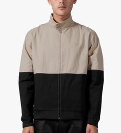 The Quiet Life Tan/Black Harrington Coach Jacket