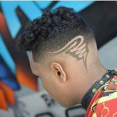 Yassssss! Black Men Hairstyles, Undercut Hairstyles, Boy Hairstyles, Cool Haircuts, Haircuts For Men, Black Hair Undercut, Haare Tattoo Designs, Boys Haircuts With Designs, Undercut Hair Designs