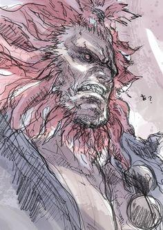 Akuma Street Fighter, Street Fighter 5, Street Fighter Characters, Anime Artwork, Cool Artwork, Amazing Artwork, Art Drawings Sketches Simple, Cool Drawings, Character Art