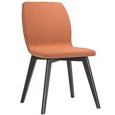 Buy Modway Proclaim Dining Side Chair in Walnut Orange EEI-1622-WAL-ORA online…