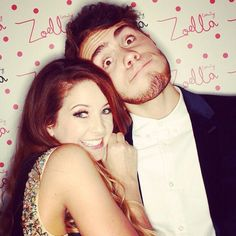 Zalfie at the Zoella Beauty launch party Cute Youtube Couples, Cute Couples, British Youtubers, Best Youtubers, Pointless Blog, Zoella Beauty, Tanya Burr, Marcus Butler, Zoe Sugg