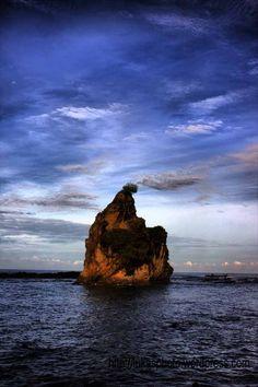 Sawarna Beach - Tanjung Layar