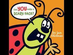 Can you make a scary face? by Jan Thomas:  Read by SUPER BooKBoY!