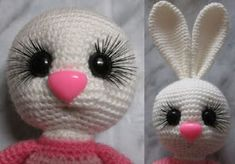 Leithygurumi: Cute Bunny English Pattern by Irina Bezelyanskaya Funny Bunnies, Cute Bunny, Doll Patterns, Easter Bunny Crochet Pattern, Crochet Organizer, Amigurumi Toys, Crochet Toys, Kids And Parenting, Rabbits