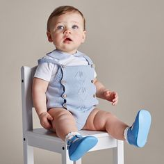 range of traditionally made baby boy clothes for your little one. Preppy Baby Boy, Cute Baby Boy Outfits, Toddler Outfits, Kids Outfits, Hipster Baby Clothes, Cool Baby Clothes, Vintage Baby Clothes, Little Boy Fashion, Baby Boy Fashion