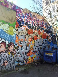 Brighton street art | graffiti: Terror Fabulous 06 (photo 1)