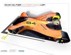 Le Mans 2030 Concept for Michelin Design Challenge 2017 by David Voltner