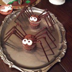 Spider muffins 2