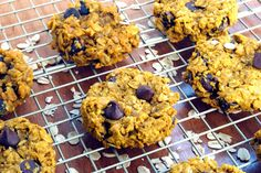 New to the Table: Chocolate Chip PB Pumpkin Cookies
