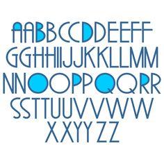 Split Swirl Cuttable Font Cut File Vector Clipart Digital