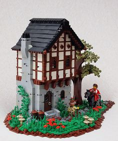 ~ Lego MOCs Fantasy ~ CCCXII Lancly Inn | by Brother Steven