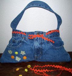 Cute Denim Handbag