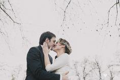 Fotografia romantica de boda