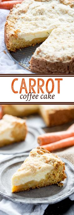 I LOVE coffee cake, and carrot cake. So put them together and you have an amazing treat! carrot-coffee-cake-HERO