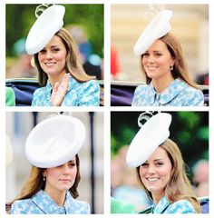 Kate's first official appearance since the birth of daughter Charlotte. 6/13/2015