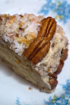 Sugar & Spice by Celeste: Fresh Orange Italian Cream Cake - Southern Living#