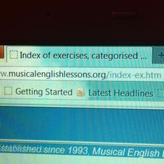 Site with songs for everything- tenses, phrasal verbs, gerunds and inf, etc.