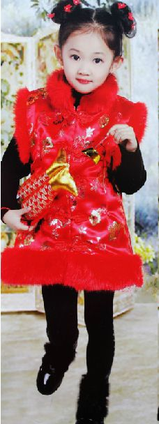 Chinese New Year Dresses for Girls
