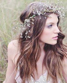 Flower Head Wreath & great hair