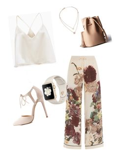 """""""culottes"""" by chiu-sexy ❤ liked on Polyvore featuring Valentino, Charlotte Russe, Michael Kors, TrickyTrend and culottes"""