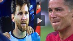 Lionel Messi & Cristiano Ronaldo ● # Respekt●Traurige Momente