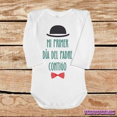 Body bebé mod. Mi primer día del padre contigo. Mom And Baby, Our Baby, Baby Boy Fashion, Cool Baby Stuff, New Fathers, First Fathers Day, Bee Gifts, Boy Onesie, Baby Shark