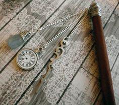 Crystal Time Steampunk Hair Stick