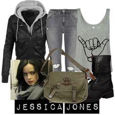 Jessica Jones by katwhisky on Polyvore
