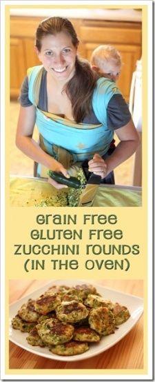 Primal Baked Zucchini Rounds (Grain Free, Gluten Free)