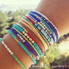 Boho mix #bracelets