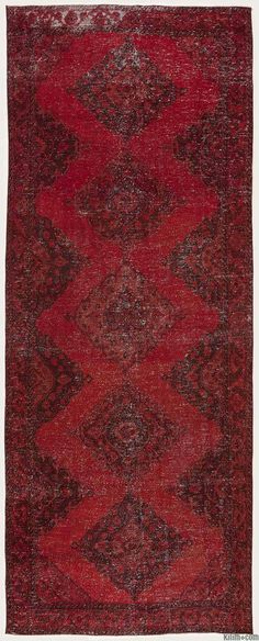Over-dyed Turkish Vintage Rug