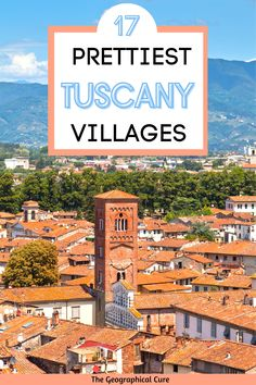Planning the quintessential Italian vacation in romantic Tuscany? This Tuscany travel guide and itinerary takes you on a 10 day road trip in the beautiul region of Tuscany. You'll see the 17 of the most beautiful villages in Tuscany and all of Italy. Tuscany boasts some of the world's best cathedrals, palaces, museums, and landscapes. It's celebrated for its Gothic and Renaissance art. Italy Itineraries | Itlaly Road Trips | Tuscany Road Trips | Tuscany Itineraries | Where To Go In Tuscany Travel Guides, Travel Tips, Italy Destinations, Hiking Europe, Medieval Town, Renaissance Art, Travel Aesthetic, Culture Travel, California Travel