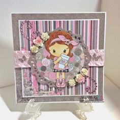 Kiki latte card by shanninmarie - Cards and Paper Crafts at Splitcoaststampers