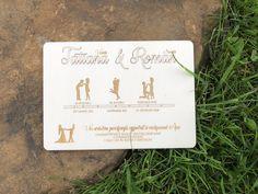 Luxusné svadobné oznámenia Place Cards, Place Card Holders