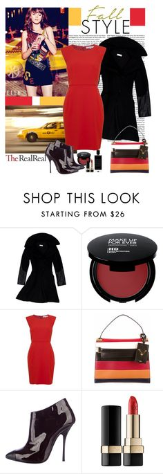 """Fall Style With The RealReal: Contest Entry"" by polybaby ❤ liked on Polyvore featuring Altuzarra, French Connection, Valentino, Giuseppe Zanotti, Dolce&Gabbana and Agonist"