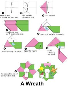 christmas origami ornaments instructions  Rainforest Islands Ferry