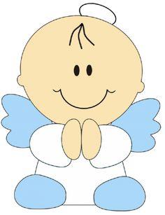 0angelito e1360766142721 Imágenes tiernas de Angelitos para Bautismo